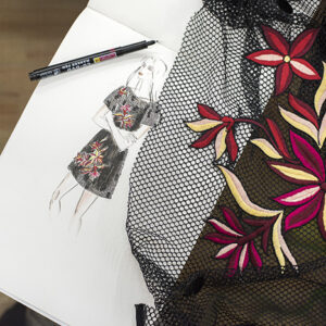 Dream Blueprints Embroidery