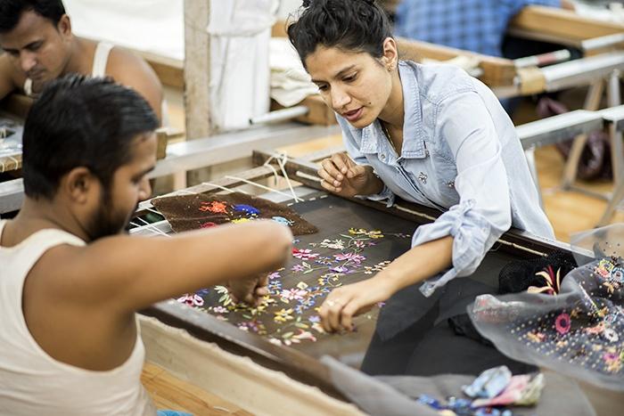 Dream Blueprints Design Studio , Shama Thakare, Hand Embroidery, Atelier