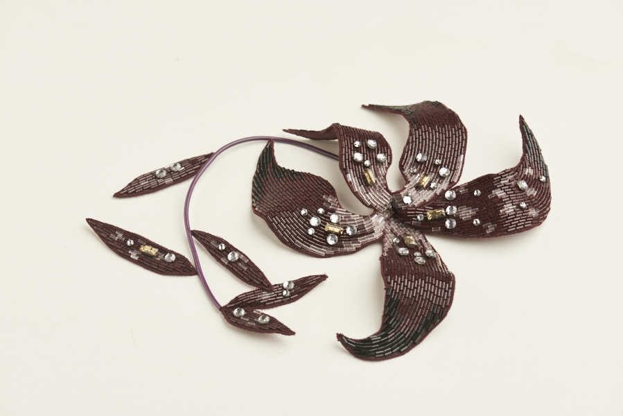 Dream Blueprints Design Studio , Hand Embroidery Atelier, accessories, flower, brooch