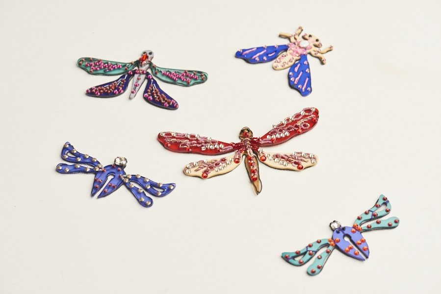 Dream Blueprints Design Studio , Hand Embroidery Atelier, accessories, insect brooches